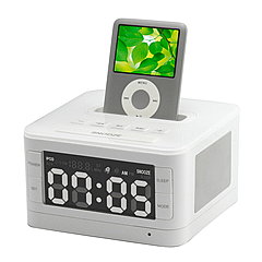 Kootec ALARM CLOCK RADIO for iPod[PT231]