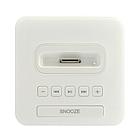 Kootec ALARM CLOCK RADIO for iPod 上面Dockコネクタ&操作ボタンイメージ