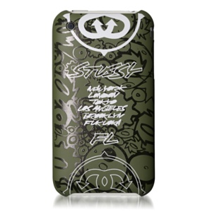 Stussy×FL Air Jacket for iPhone(Olive) - パワーサポート