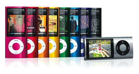 第5世代iPod nano(5th Gen.)イメージ