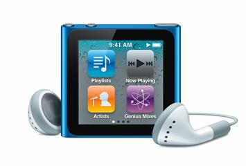 第6世代iPod nano(6th Generation)画像