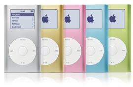 第1世代iPod mini(1st Gen.)画像